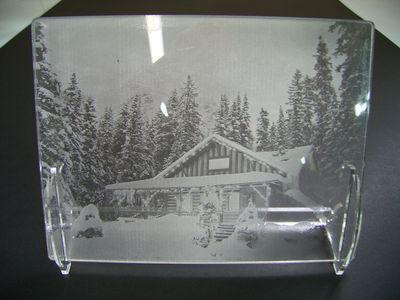 Photogravure en plexiglass